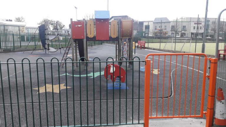 New Entrance to Playground