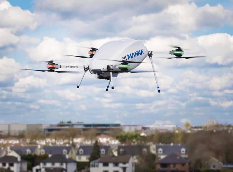 Manna Drone Coffee Morning