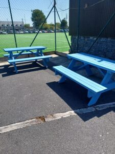 Donation of Playground Benches